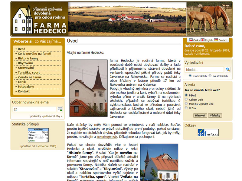 Farma Hedecko screenshot